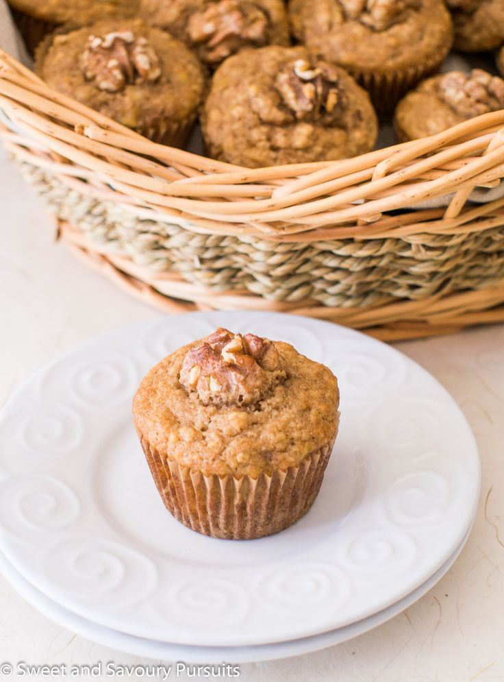 banana maple walnut muffins bakery cakes scones muffin mornings pastry ...