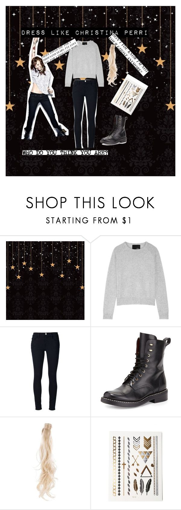 """""""Dress Like Christina Perri"""" by queengalaxy ❤ liked on Polyvore featuring Line, Frame, rag & bone and Rapunzel Of Sweden"""