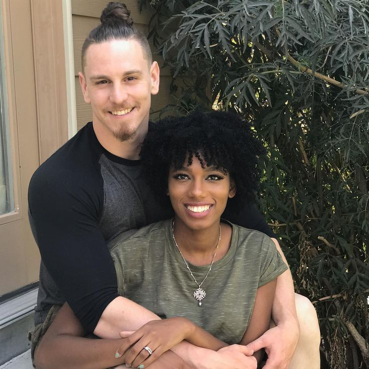 Josh and Shannon Roberts ❤ Gorgeous interracial couple #love #wmbw #bwwm #swirl #married #lovingday #relationshipgoals