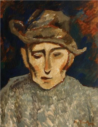 Miner - Nicolae Tonitza, Expressionism