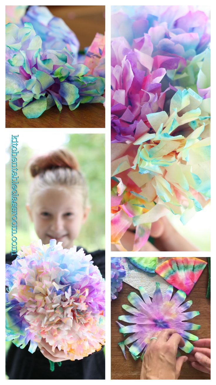 Coffee Filter Flowers & Other Easy Coffee Filter Crafts – The Kitchen Table Classroom