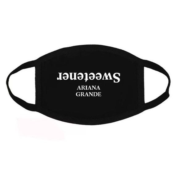 Ariana Grande No Tears Left To Cry Tear Drop Face Mask Merch In