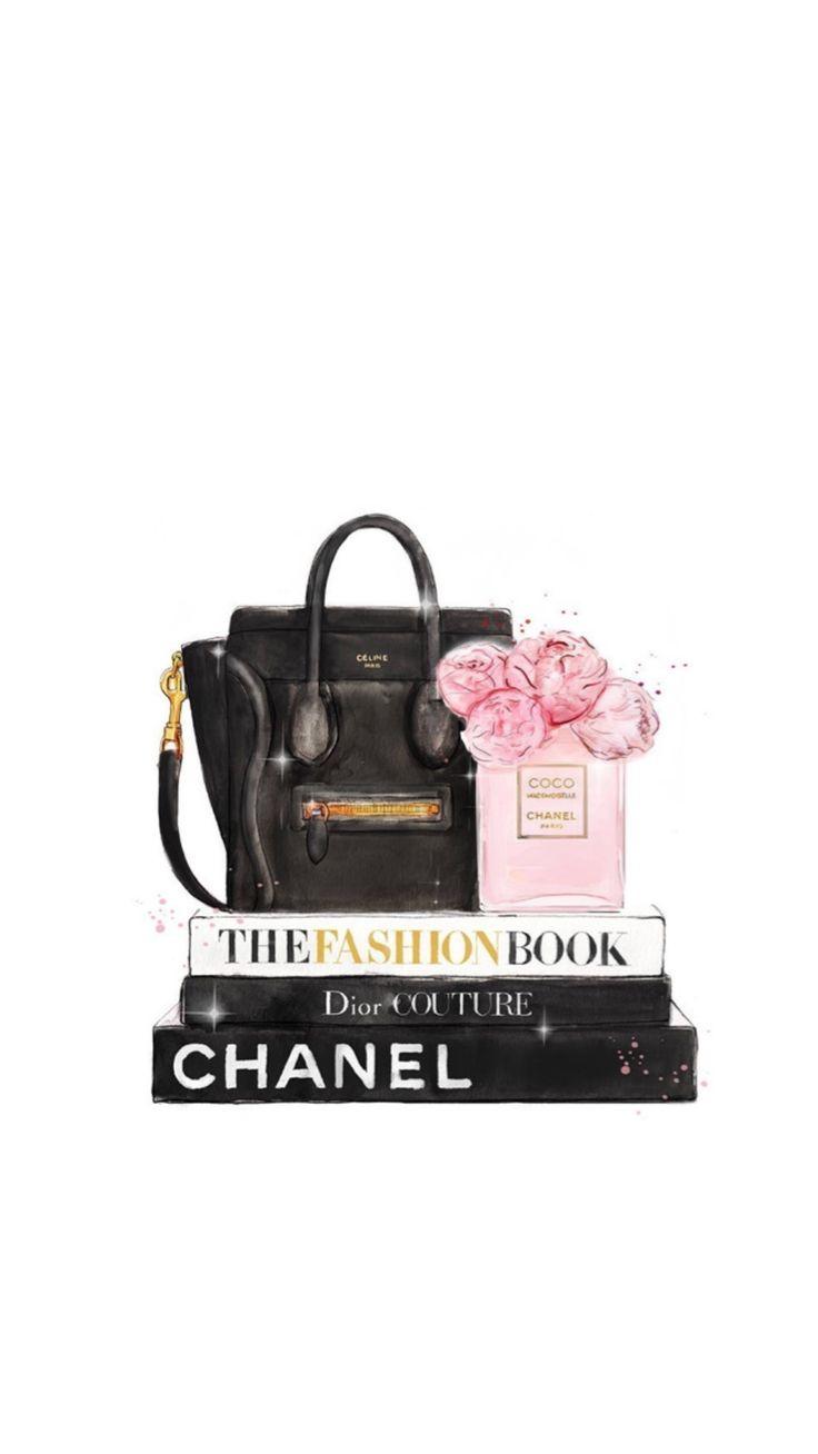 Chanel Mint pink gold silver rose black Erin Condren Sticker (Repost vom @) ..me…