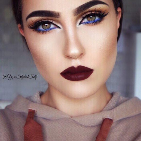 FALL LOOK WITH A POP OF BLUE Makeup Tutorial - Makeup Geek