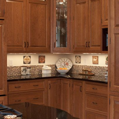Short Backsplash · Tile IdeasTraditional KitchensKitchen ...