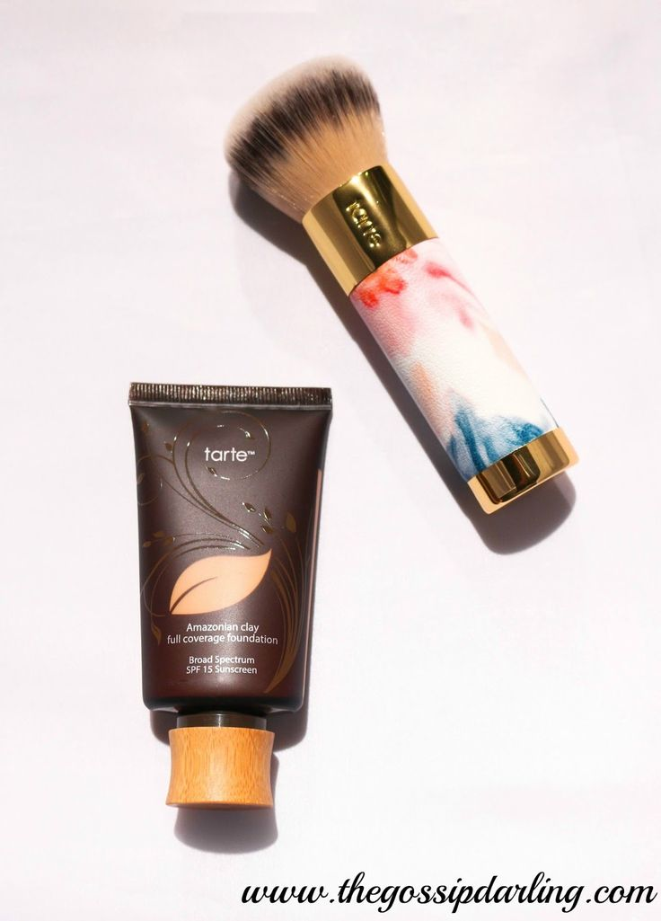 Tarte Amazonian Clay Foundation Review by The Gossip Darling