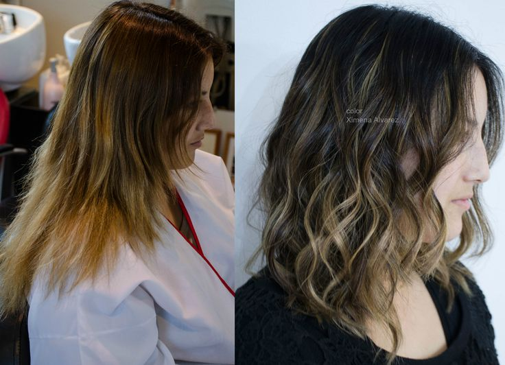 Correccion de color y balayage