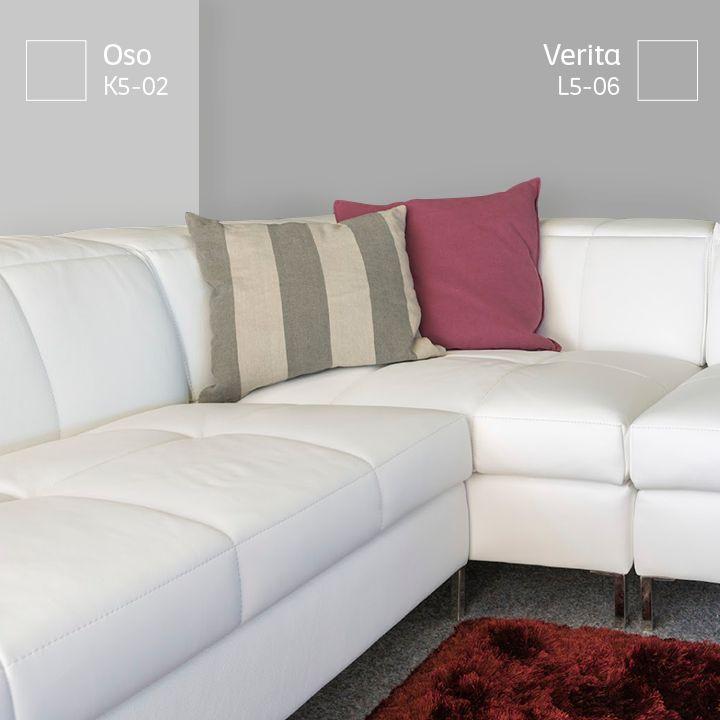 Si te gustan los tonos oscuros en tus muros contrasta con - Pintar muebles de colores ...