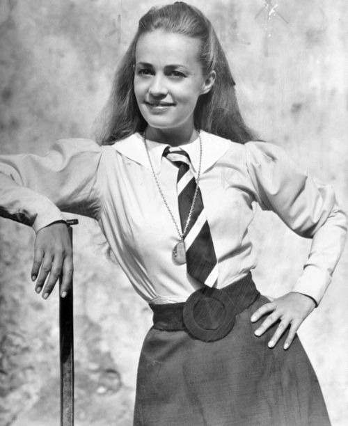 young Jeanne Moreau