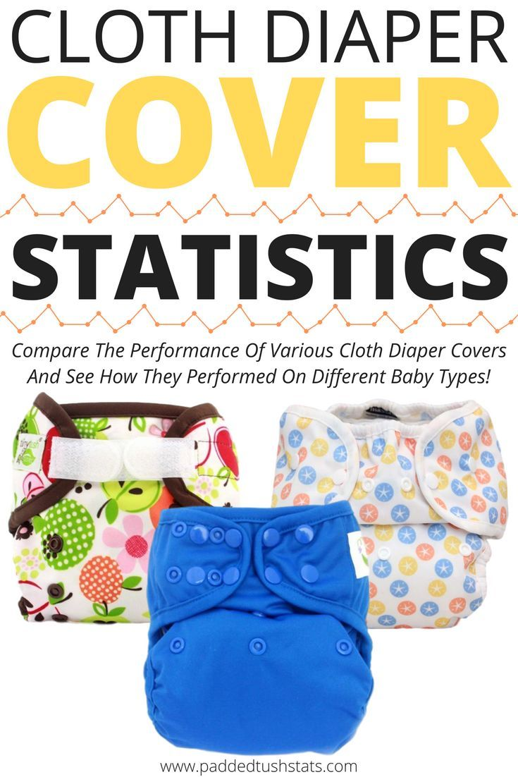 Trying to find the best cloth diaper cover for your baby can be overwhelming, since everyone has an opinion but nobody's baby is EXACTLY like yours! The Padded Tush Stats Cloth Diaper Statistics Table has information from parents who have reported how different diapers fit their particular baby's body types and needs, which is organized in a sortable database to help you find the best diaper for YOUR baby! If you're not sure which product to try, this is a great resource to help you decide!