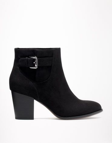 Bershka 中国 - BSK 皮扣踝靴
