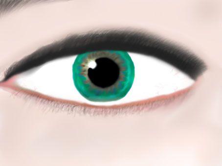 Emerald eye.