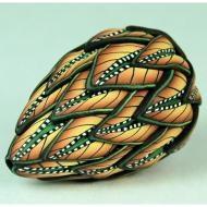 Ivy Koehn - Polymer Clay bead.  Her work is beautiful.