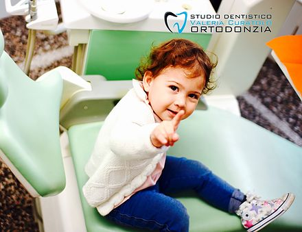 Studio Dentistico Valeria Curatolo Ortodonzia invisibile Genova | A che età la prima visita dal dentista?