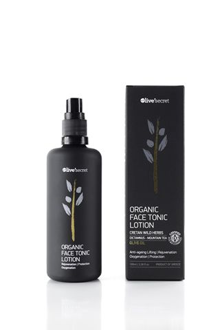 Olive Secret : Face Tonic Lotion  Tonifying & rejuvenates the skin with rich organic components & natural actives with high efficiencylotion