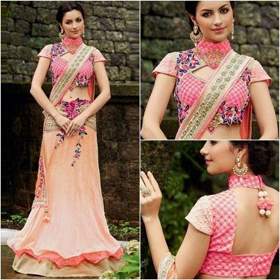 Designer Saree Jacket Designs Blouse Patterns