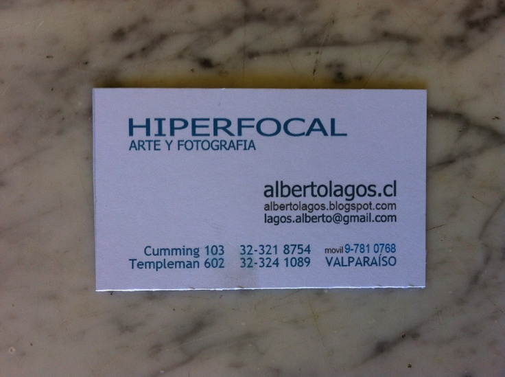 Hiperfocal negative photographic prints on canvas / ValparaisoCanvas