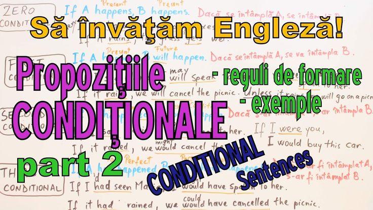 Sa invatam engleza - Propozitiile CONDITIONALE (part 2) cu exercitii - L...