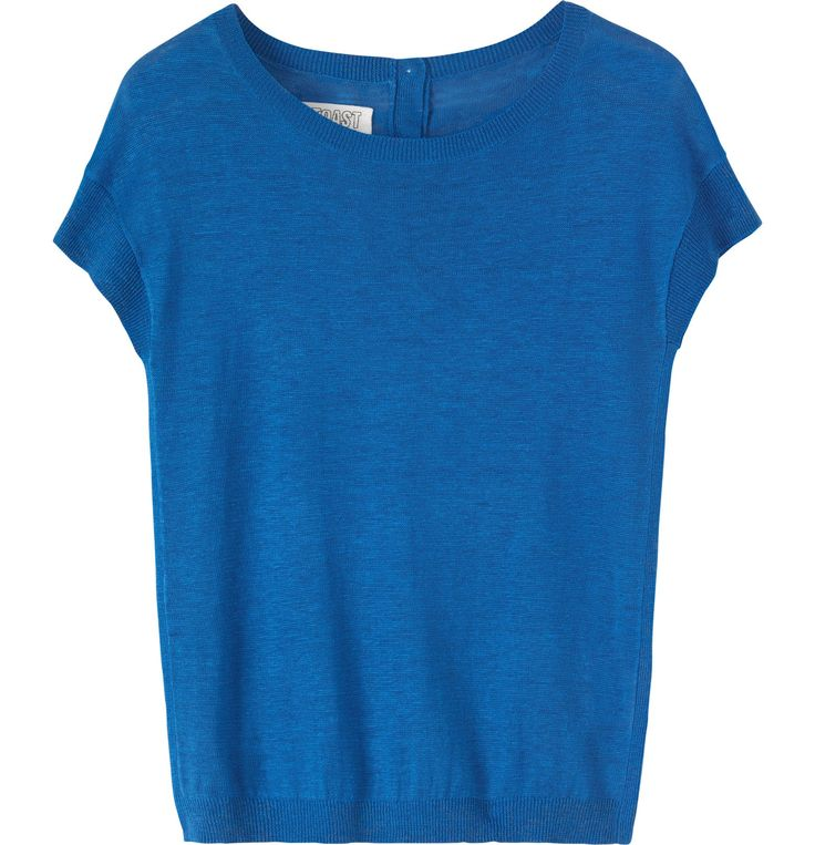 Women's Red Linen Alayna Tee | Toast