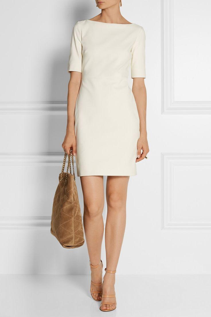 The Row|Devery stretch-twill dress|NET-A-PORTER.COM