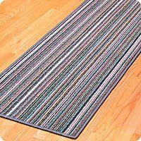 Charming Top Quality Fiber Is Non Skid Rubber Backed.. Protect Your Foyer, Den,  Laundry Room Or Garage Floor. Multi Colored Runner Fits Any Color Scheme In  Your ...