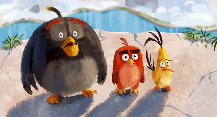 angry birds | Pete Oswald