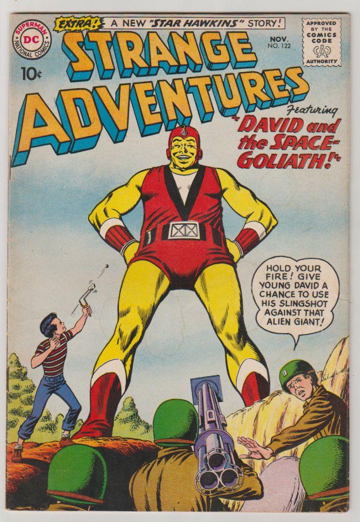 Strange Adventures; Vol 1, 122, Silver Age Comic Book. FN. November 1960. DC Comics #strangeadventures #silveragecomics #comicsforsale