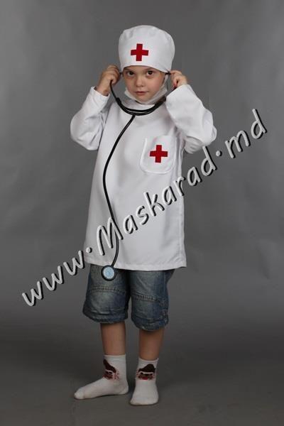 Маскарадный детский костюм доктора врача купить