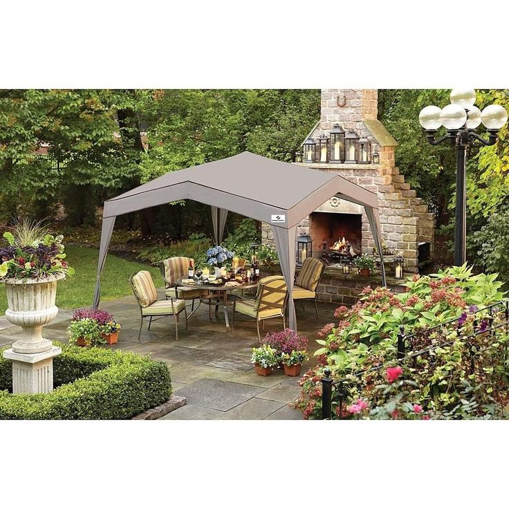 10x10 Canopy Tent Gazebo Shade Shelter BBQ Parties Deck Patio Backyard Courtyard