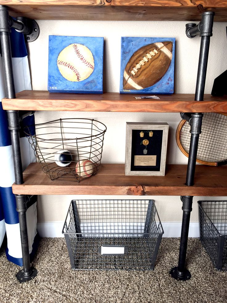 25 best ideas about vintage sports rooms on pinterest for Hampers for kids rooms