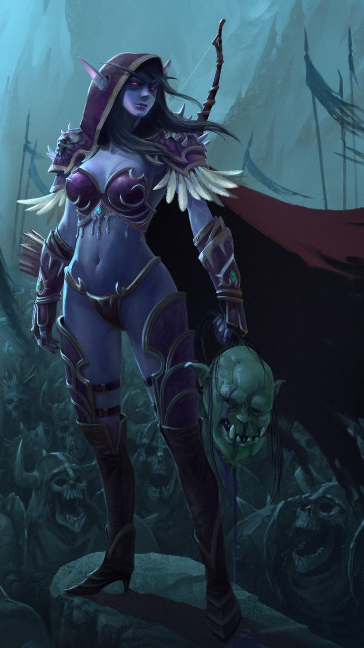 17 Best images about SYLVANAS on Pinterest | Artworks ...