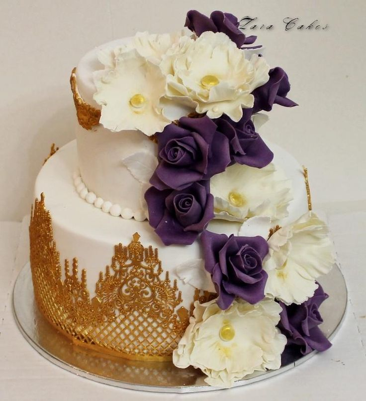 flower cake - Cake by Zara