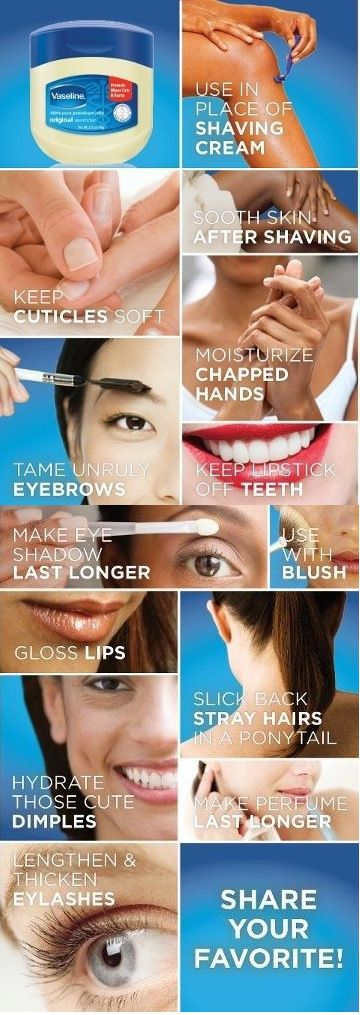 10 amazing beauty uses for vaseline