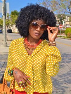 26 best african and caribbean personalities with natural hair folake kuye huntoon pmusecretfo Gallery