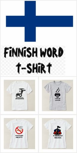 Finnish Word T-Shirt