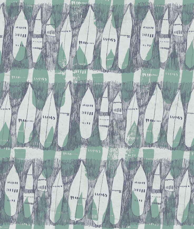 Bamboo Stencils by Rosie Holman. www.oakrose.co.uk