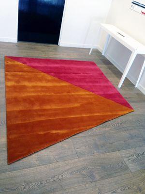 Korda Design - pink orange angular rug2.jpg
