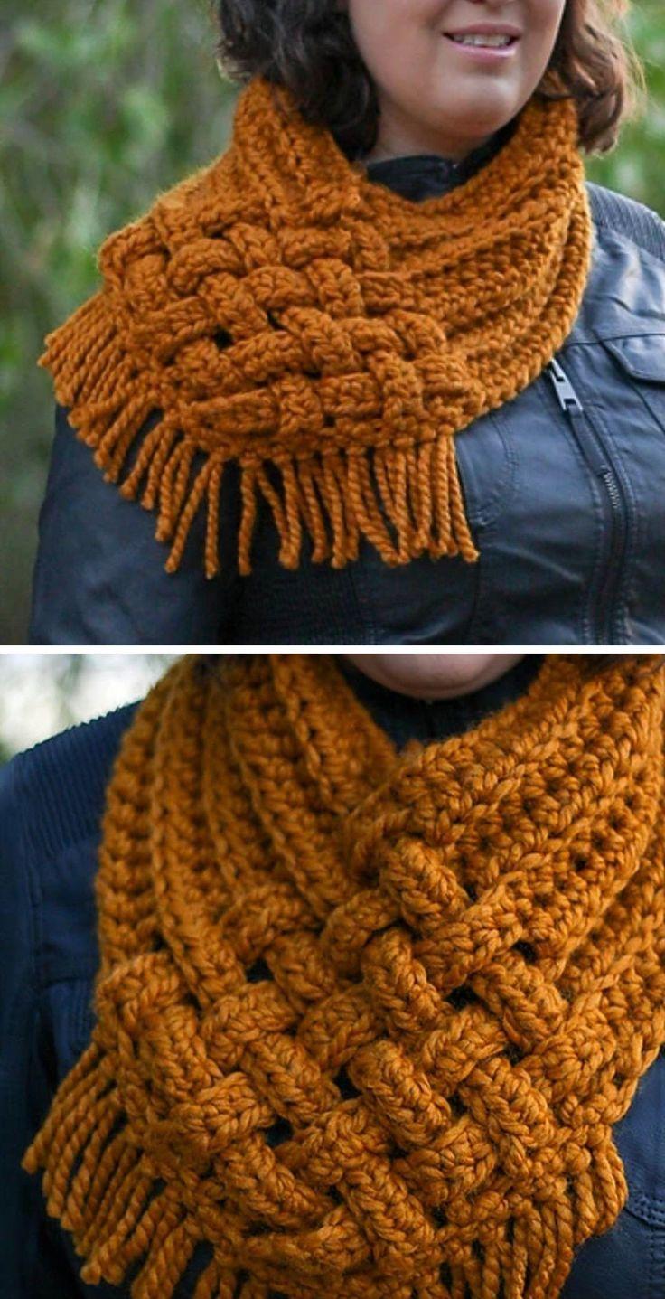 Capucho Tecido Crochet