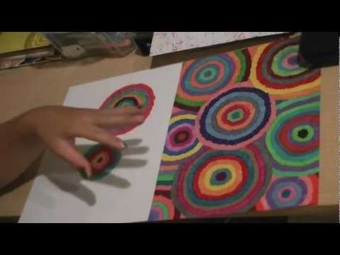 """DIY: Decorate School Supplies with Sharpie markers """"FIREWORKS"""""""