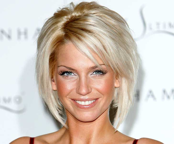 short hair part inmiddle - Google Search