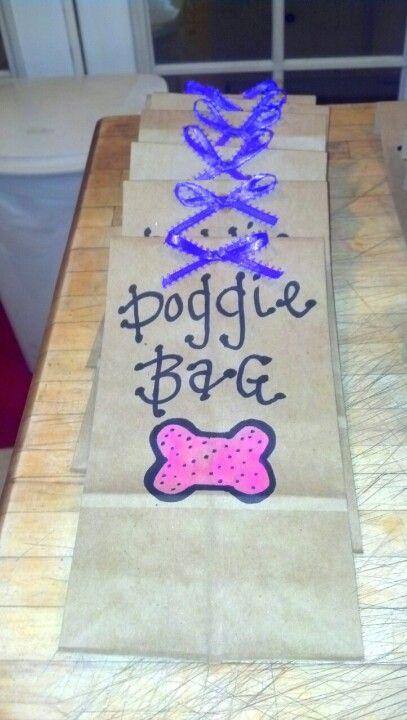 Littlest pet shop party favor bags <3.                            What a great idea!   So adorable.