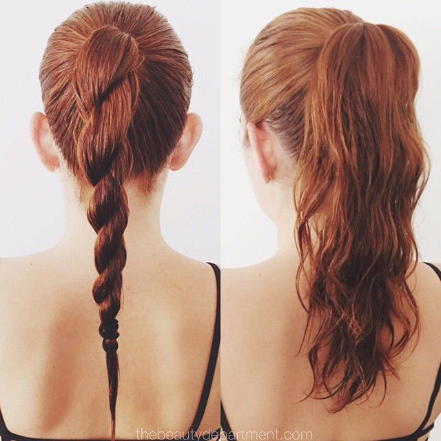Cute Ways To Do Your Hair When Wet: Easy Wet Hairstyles For Long Hair