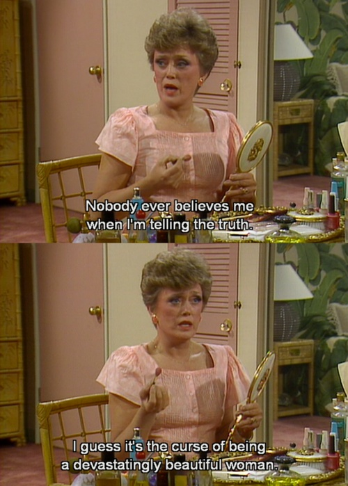 Blanche, The Golden Girls