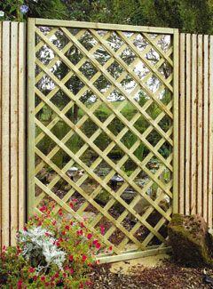 17 best images about fencing on pinterest gardens for Garden feature screens