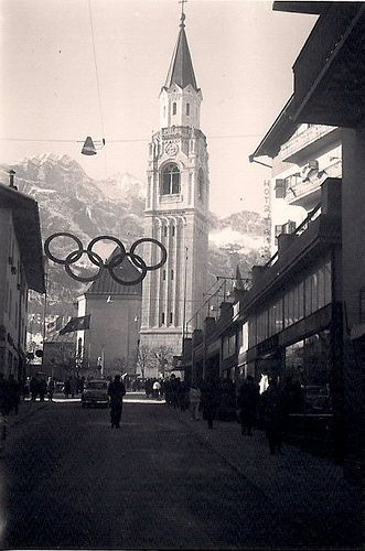 1956 Winter Olympics in Cortina, Italy | Flickr - Photo Sharing!