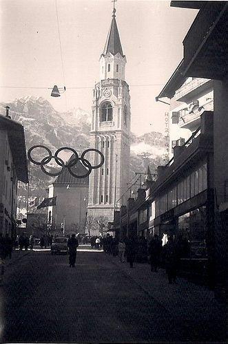1956 Winter Olympics in Cortina, Italy | Flickr - Photo Sharing!