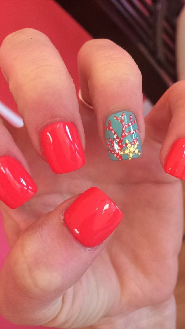 Best Of Nail Designs For Beach Vacation Ideas Vacation Nails