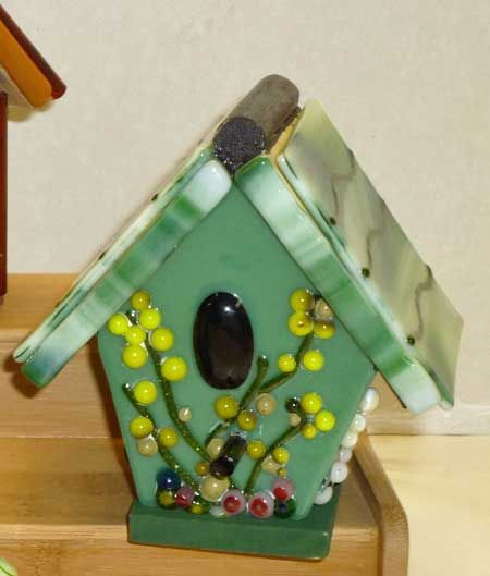 birdhouse pictures | The Vinery Glass Studio