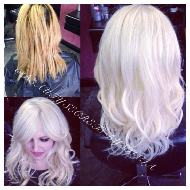 9 best hair extensions images on pinterest bleach blonde hair before after color correction to white blonde and track hair extensions by silvia pmusecretfo Image collections