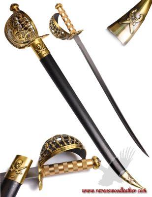 Pirate Rigging Cutlass Sword